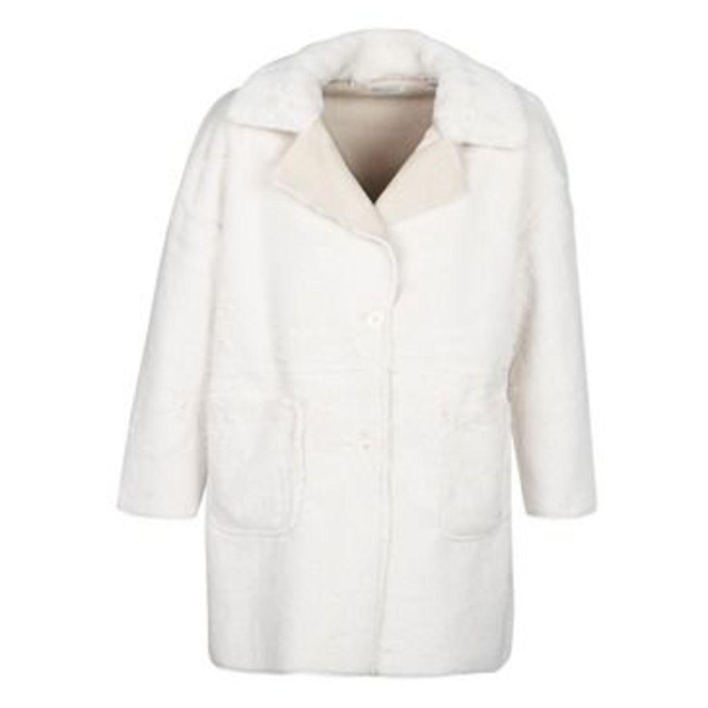 LPB Woman  YSTER  women's Coat in Beige