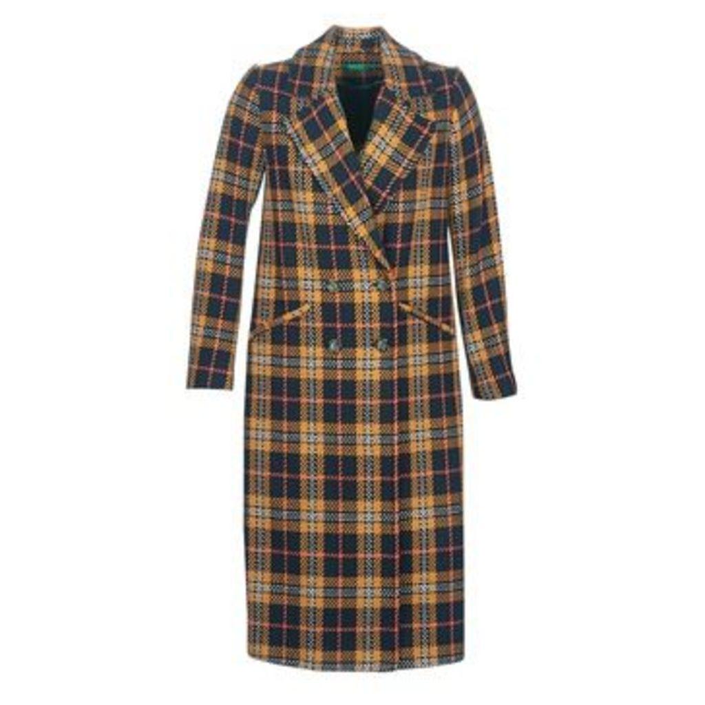 Benetton  MONDRION  women's Coat in Blue