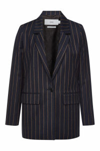 Closed Cox Striped Blazer with Virgin Wool