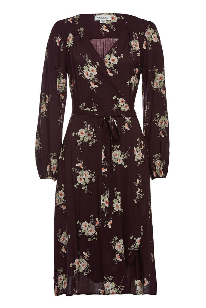 Velvet Pomona Printed Dress