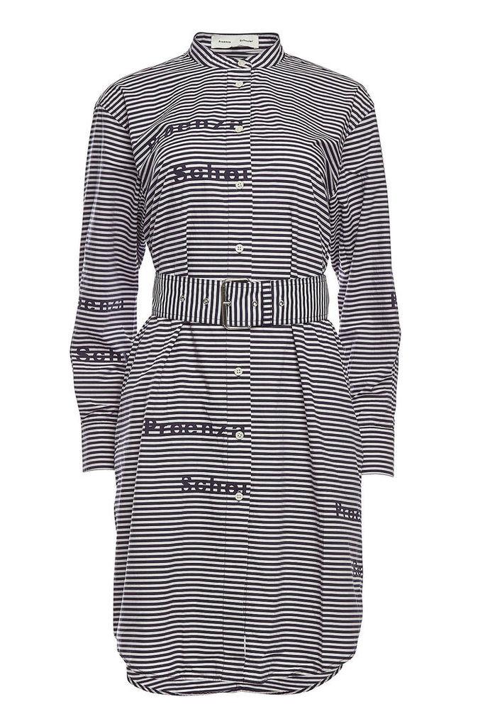 PSWL Printed Cotton Shirt Dress