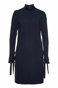 Steffen Schraut Midi Dress with Turtleneck