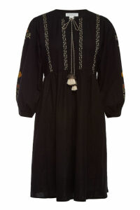 Velvet Bettina Embroidered Cotton Dress