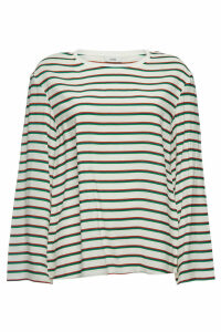 Closed Lotte Striped Top with Silk