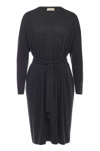 American Vintage Belted Dress with Cotton