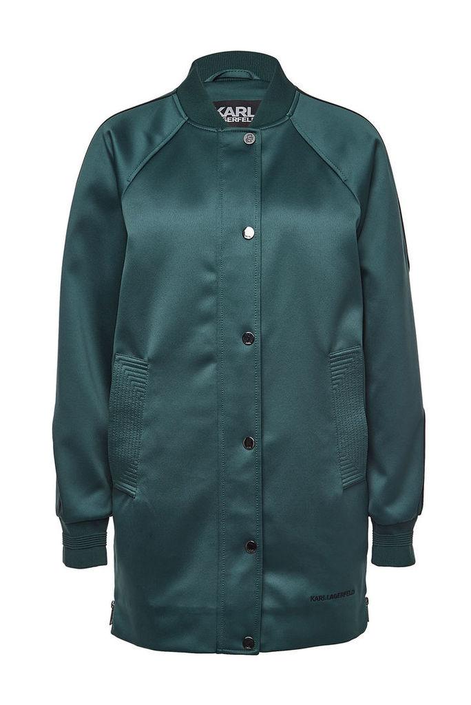 Karl Lagerfeld Satin Coat