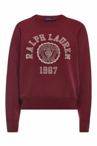 Polo Ralph Lauren College Cotton Sweatshirt