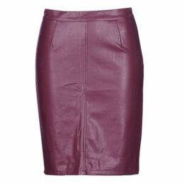 Noisy May  NMPENNY  women's Skirt in Red