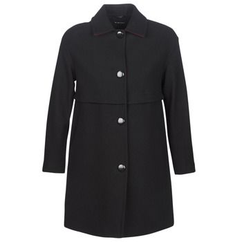 Sisley  FAREDA  women's Coat in Black