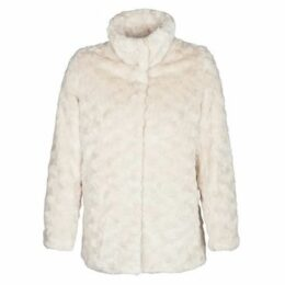 Naf Naf  ABATA  women's Coat in Beige