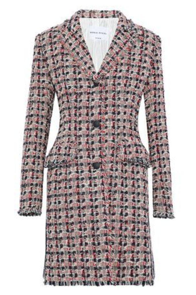 Sonia Rykiel Woman Cotton-blend Tweed Jacket Red Size 38