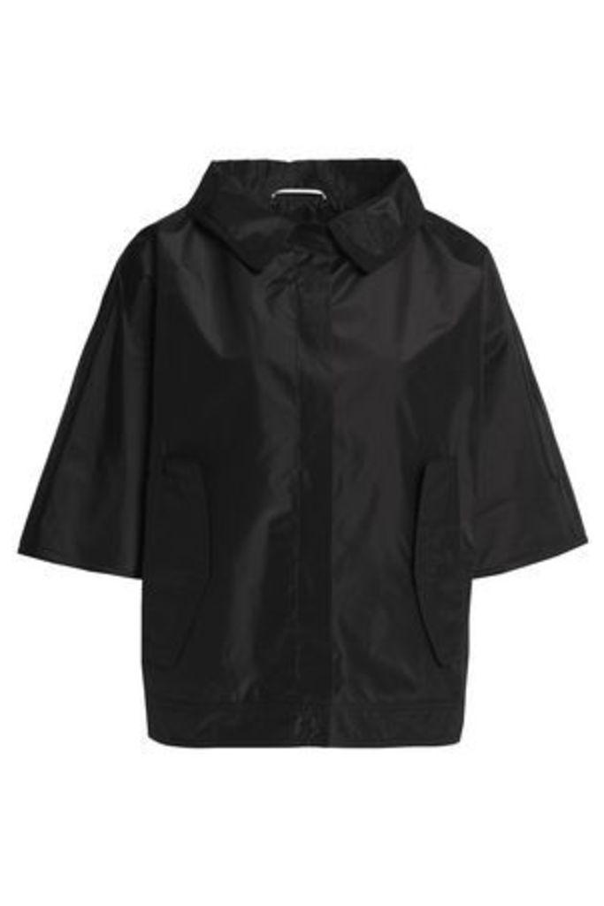 Rochas Woman Silk-shell Jacket Black Size 38