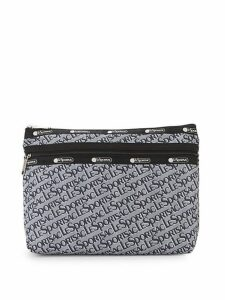 Large Taylor Logo Printed Pouch