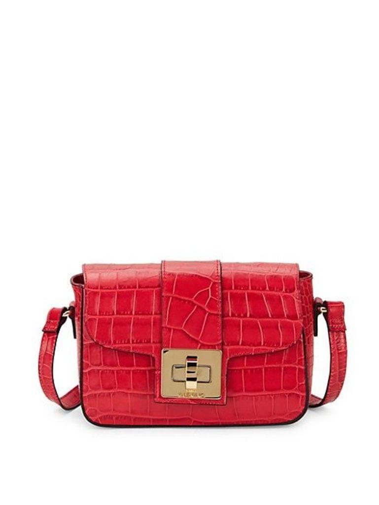 Yasmine Crocodile Crossbody Bag