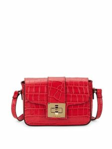 Yasmine Crocodile Crossbody Bag