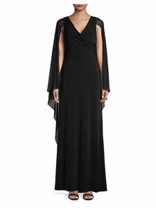 A-Line Cape Dress