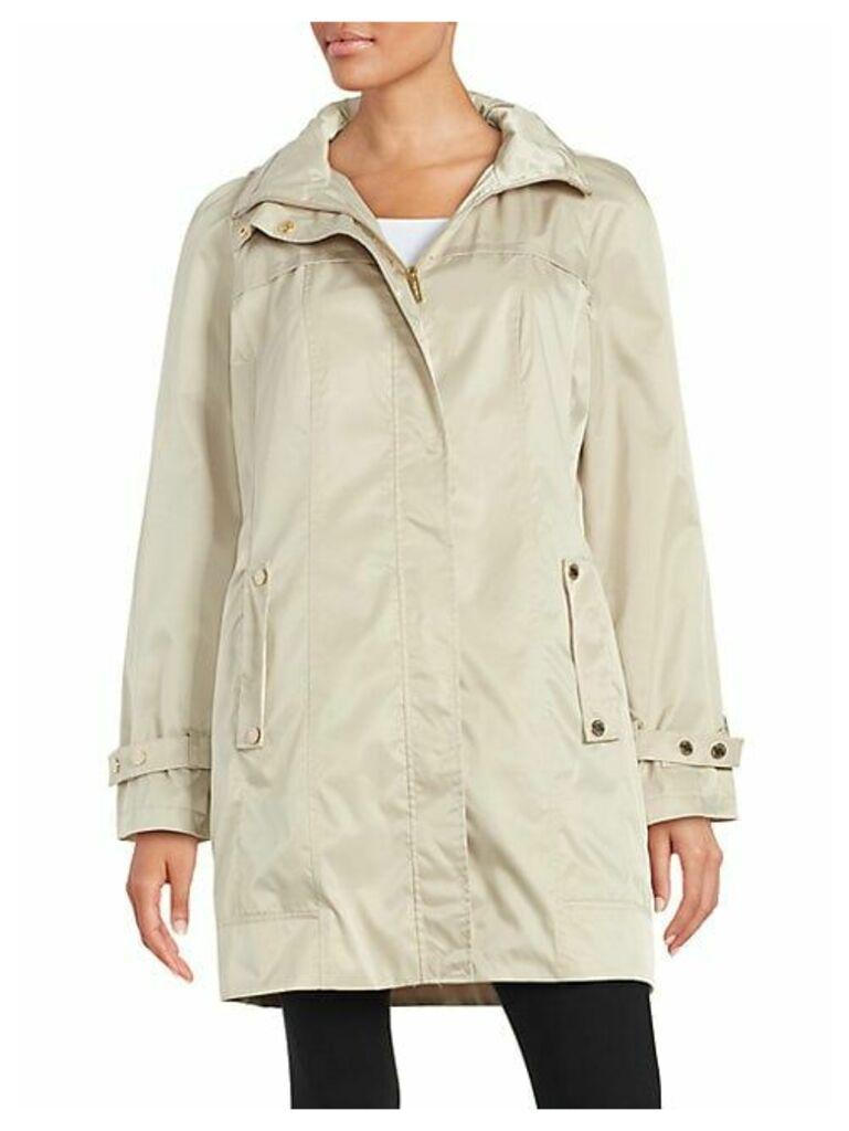 Packable Anorak Coat