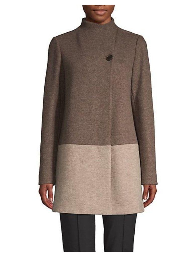 Valina Virgin Wool Blend Coat