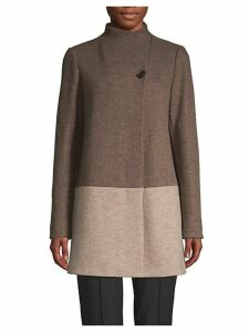 Valina Virgin Wool Blend Coat