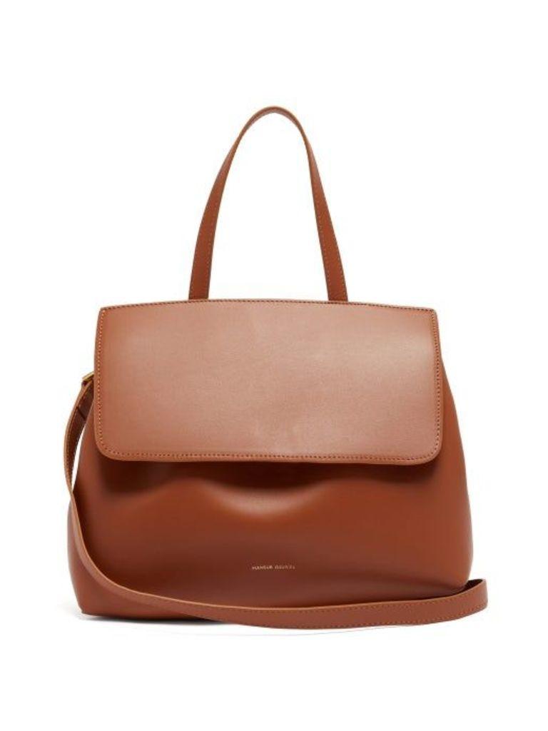 Mansur Gavriel - Mini Lady Drawstring Leather Bag - Womens - Tan