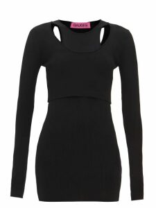Valentino - Rockstud Spike Belt Bag - Womens - Red
