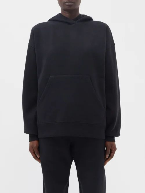 Thorsun - Georgie Polynesian Print Cotton Shirt - Womens - Navy Multi