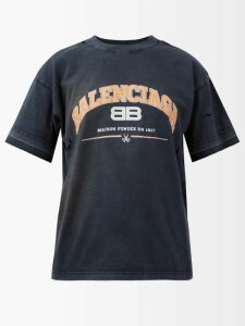 Thierry Colson - Sam Striped Silk Trousers - Womens - Red Stripe