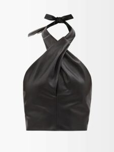 Loup Charmant - Flores Tiered Silk Skirt - Womens - Red