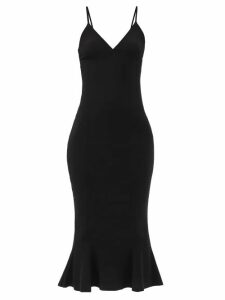 Juliet Dunn - Floral Embroidered Cotton Mini Dress - Womens - White Multi