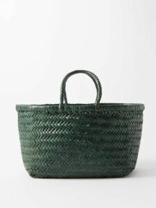 Figue - Milagro Polka Dot Print Silk Satin Shirt - Womens - Black