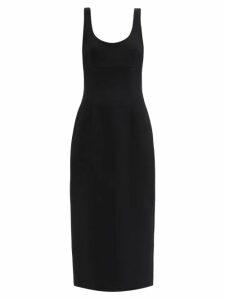 Gül Hürgel - Belted Striped Linen Blend Dress - Womens - Pink Stripe