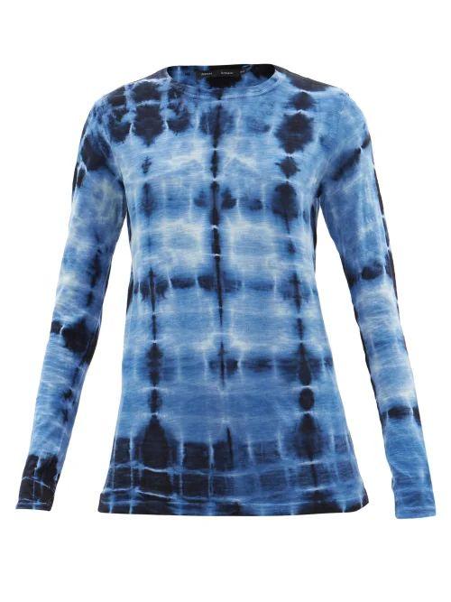 Lisa Marie Fernandez - Nicole Floral Print Asymmetric Hem Skirt - Womens - Red Multi