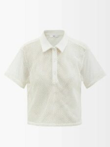 Gül Hürgel - Shawl Collar Striped Linen Dress - Womens - Multi Stripe
