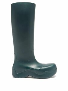 Athena Procopiou - Floral Print Silk Dress - Womens - Black Print