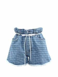 Lisa Marie Fernandez - Nicole Tiered Seersucker Skirt - Womens - White Stripe