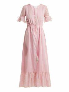 Athena Procopiou - Julia Button Front Dress - Womens - Light Pink