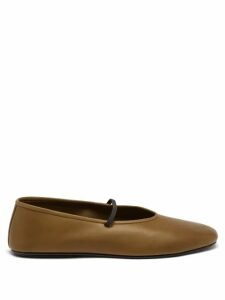 Loup Charmant - Sea Island Tie Waist Linen Dress - Womens - Light Pink