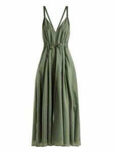Kalita - Jagger Cotton Blend Dress - Womens - Light Green