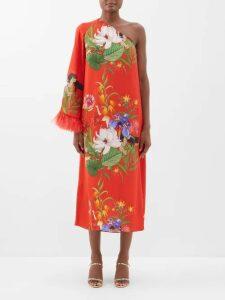 Three Graces London - Temple Striped Cotton Blend Top - Womens - White Multi