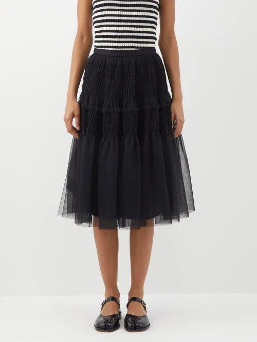 Lisa Marie Fernandez - Leandra Floral Print Cotton Cropped Top - Womens - Cream Multi