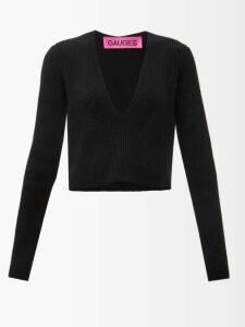 Figue - Josefina Geometric Embroidered Silk Dress - Womens - White Multi