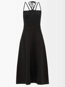 Albus Lumen - Lolita Bell Sleeved Tiered Dress - Womens - Yellow