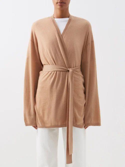 Rhode - Lea Floral Print Cotton Dress - Womens - Orange Print