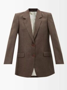 Rhode - Lea Floral Print Cotton Dress - Womens - Orange Print