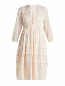 Loup Charmant - Nova Cotton Dress - Womens - Light Pink
