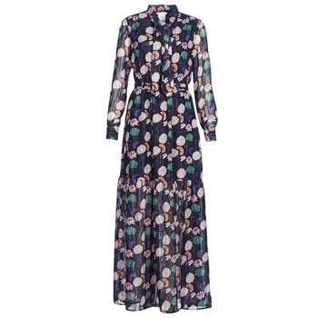 LPB Woman  REHISUN  women's Long Dress in Blue