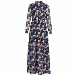 LPB Woman  REHISUN  women's Long Dress in Blue