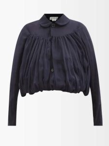 Emilia Wickstead - Mariel Open Back Sequined Gown - Womens - Burgundy