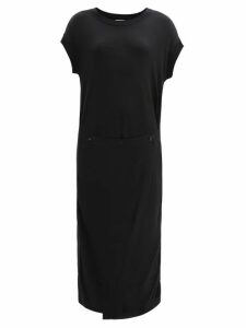 Germanier - Bead Embellished Tulle And Jersey Mini Dress - Womens - Black Multi