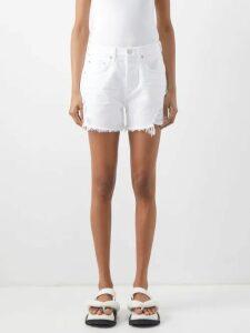 Ace & Jig - Farrah Gathered Neck Striped Cotton Blend Blouse - Womens - Multi